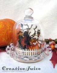 Halloween Thimble Dome Scene