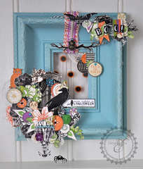 Halloween Door Hanger * Webster's Pages Once Upon a Halloween*