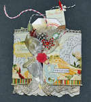 Botanical Christmas Tag Book