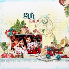 Gift Time by Designer Iris Babao featuring A Christmas Story from Webster's Pages