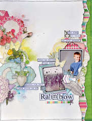 Rainbow **NEW Webster's Pages Girl Land**