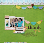 Thank You by Stacey Michaud featuring Best Friends from Webster's Pages