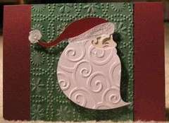 Santa Face JOTS Christmas Card