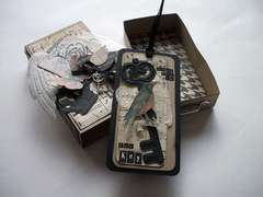Altered Matchbox and Tag
