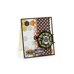 Happy Halloween Card featuring the Bewitched Collection from We R Memory Keepers