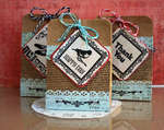 Paper Bag Project featuring the new We R Memory Keepers Bakers Twine