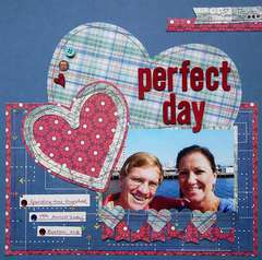 Perfect Day by Celeste Brodnik featuring Travel Light by We R Memory Keepers