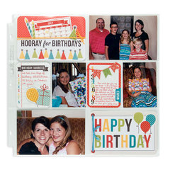 Happy Birthday featuring Hip Hip Hooray from We R Memory Keepers