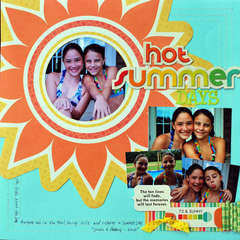 Hot Summer Days by Kelly Hansen
