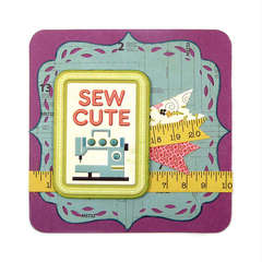 Sew Cute Featuring new Mini 8 from We R Memory Keepers
