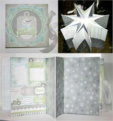 Winter Album by Miriam Prantner featuring Winter Frost from We R Memory Keepers