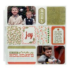 Good Cheer featuring the North Pole Collection from We R Memory Keepers