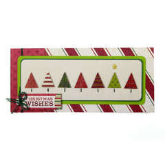 Christmas Wishes using We R Peppermint Twist