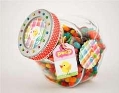 Springtime Jellybean Jar