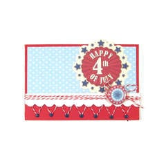 Happy 4th of July featuring Red White and Blue from We R Memory Keepers