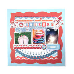 Red Whte and Blue Collection from We R Memory Keepers