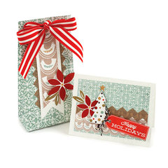 Happy Holidays featuring Silver and Gold from We R Memory Keepers