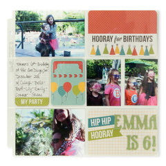 Hooray for Birthdays featuring Hip Hip Hooray Collection from We R Memory Keepers