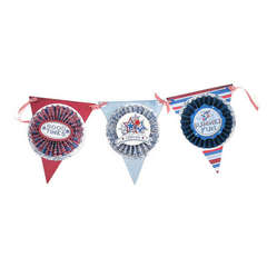 4th of July Pennant