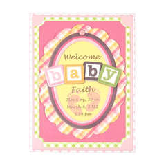 Welcome featuring Baby Mine from We R Memory Keepers