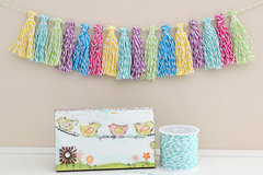 We R Memory Keepers Baker's Twine Tassel Garland