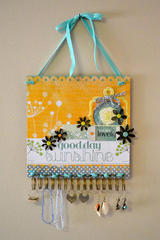 Jewelry Holder using the We R Cinch tool by Aly Dosdall