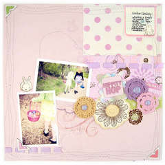 Hippity Hop featuring We R Sew Ribbon