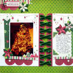 Christmas Wishes featuring We R Sew Ribbon