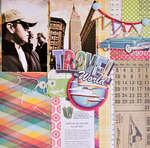 Travel the World 12x12 Layout