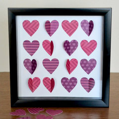 Hearts Punches from Lifestyle Crafts