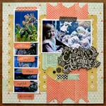 Layout with Tab Punch and Tab Stickers