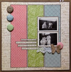 Family History Album Layout