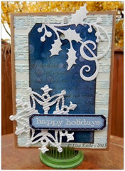 Happy Holidays Tag by Lisa