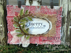 Merry Christmas! By Lynne