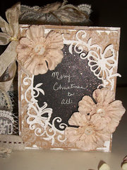 Merry Christmas to All Card by Peggy Lee