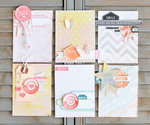 Sentiment Journaling Cards ~ pink paislee