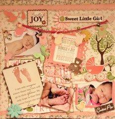Sweet Girl Bundle of Joy
