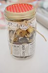 CUTE decorated mason jar
