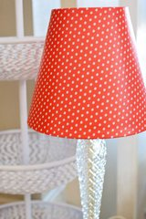 Cover a lamp! Home Decor idea