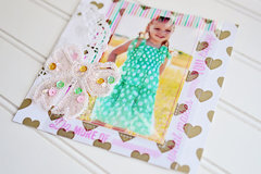 Pic Pocket frames + Sequin sparkles!