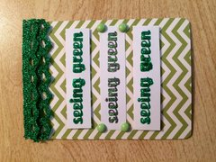 Seeing Green St. Patrick's Day ATC