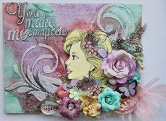 Bloom Girl Canvas