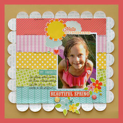 Hello Sunshine - My Creative Scrapbook