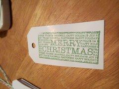 Christmas Tag 3