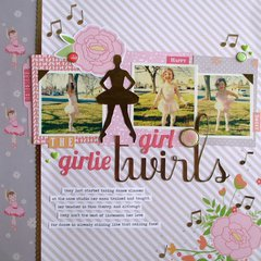Girlie Girl Twirls by Tessa Buys