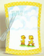 Duckies Card by DT Member Eva