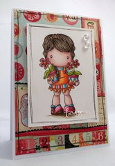 Flower Pots Lucy Card by DT Member Faye
