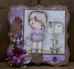 Love Letter Lucy, Mailbox Card by DT Member Martine