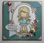 Flower Pots Lucy Card by DT Member Simone