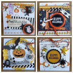 Happy HalloweenSet of 4 Cards